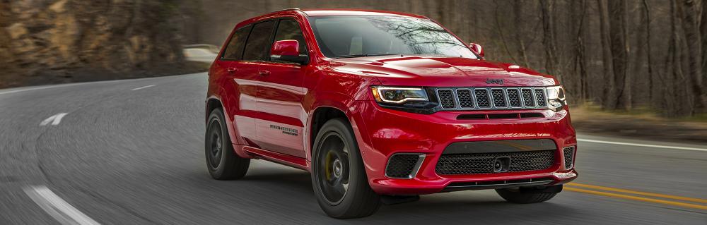 2019 Jeep Grand Cherokee vs Toyota 4Runner