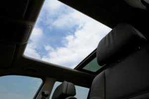 car sun roof
