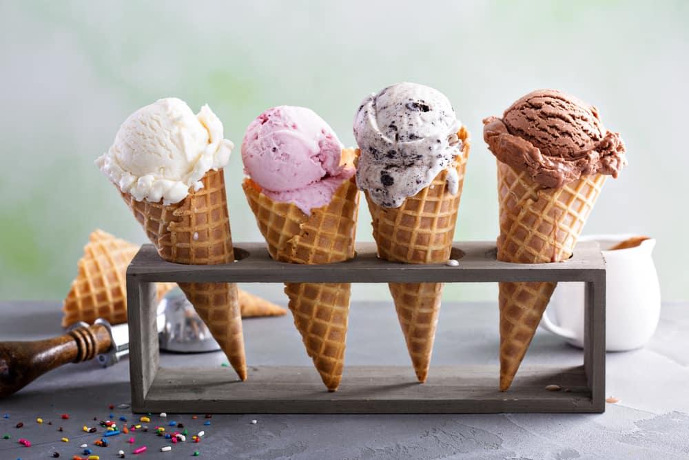 Cone Ice Cream in Chicago