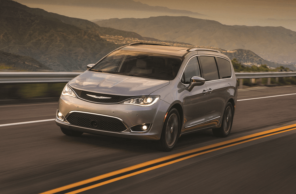 2019 Chrysler Pacifica Performance Specs