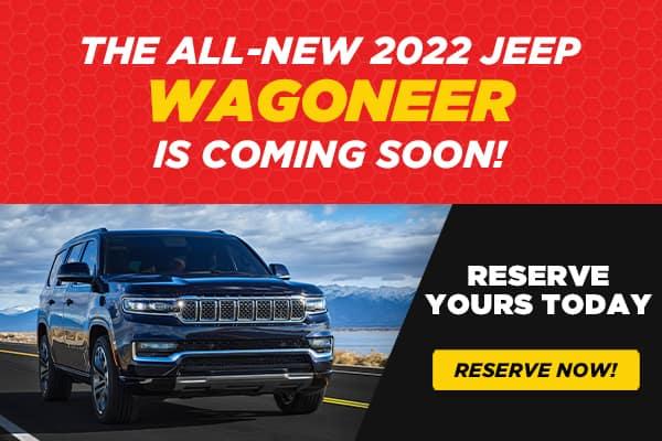 New 2022 Jeep Wagoneer