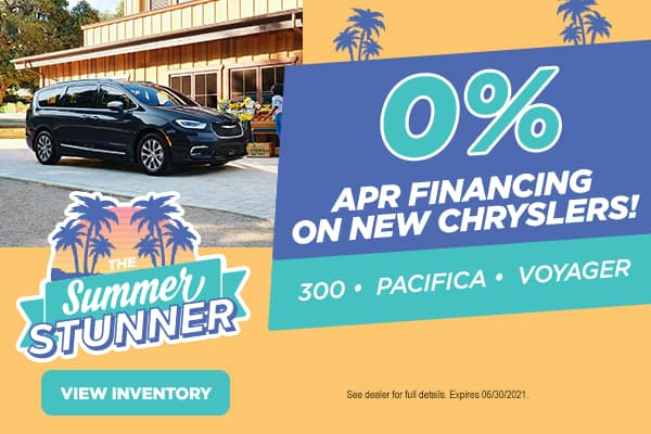0% APR on New Chryslers