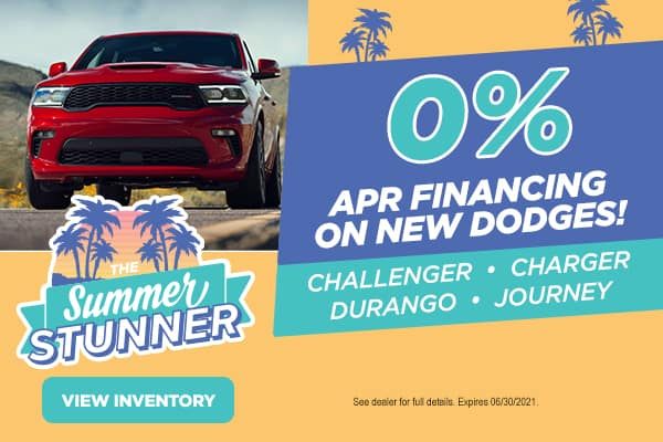 0% APR on New Dodges