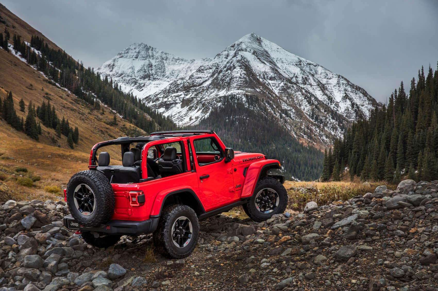 Jeep Wrangler Off Road Safety