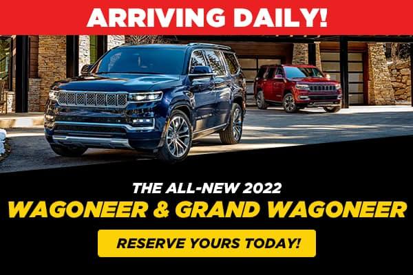 THE ALL-NEW 2022 JEEP Wagoneer & Grand Wagoneer