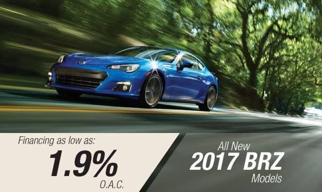 2017 Subaru BRZ Financing
