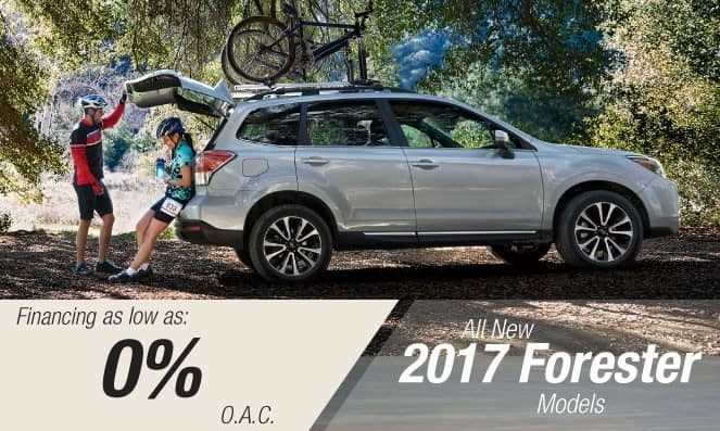 2017 Subaru Forester Financing