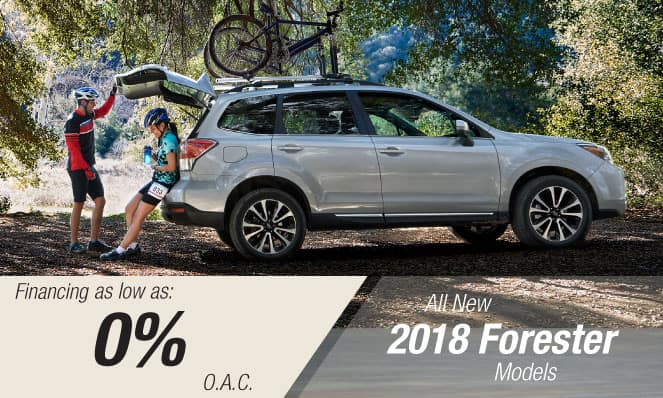 2018 Forester Financing
