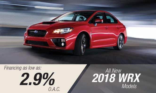 2018 WRX Financing