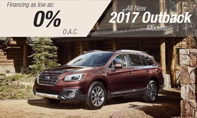 2017 Subaru Outback Financing