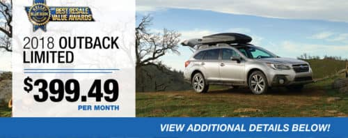 2018 Outback Limited