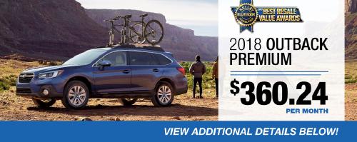 2018 Outback Premium