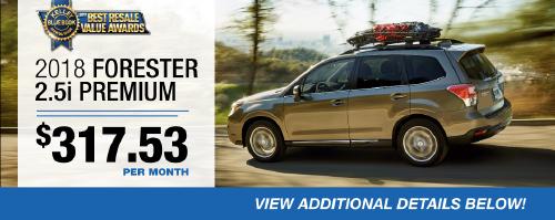 2018 Forester Premium