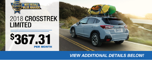 2018 Crosstrek Limited