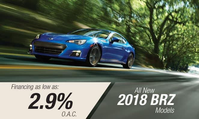 2018 Subaru BRZ Financing