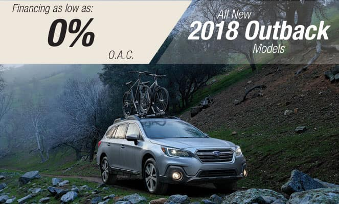 2018 Subaru Outback Financing