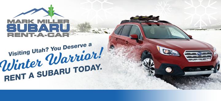 Mark Miller Subaru Rental Car Service Near Park City