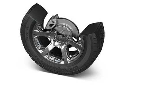 Four Wheel Anti-Lock Brakes