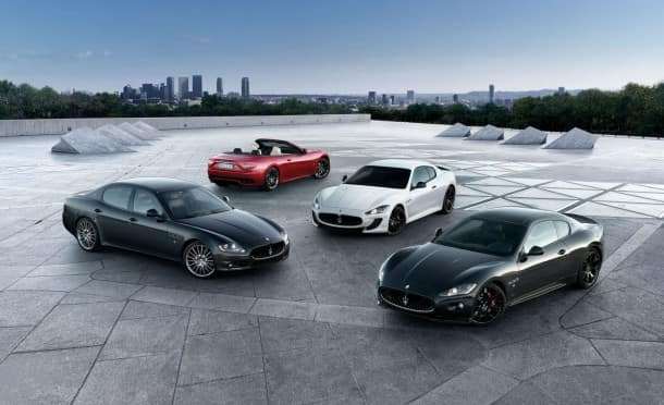Maserati Vehicle Lineup