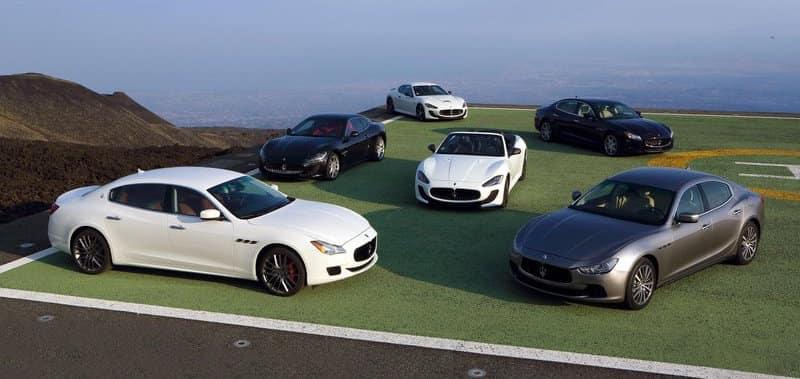 Maserati Vehicle Line