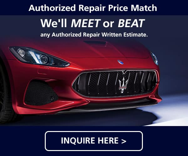 Maserati Price Match Guarantee