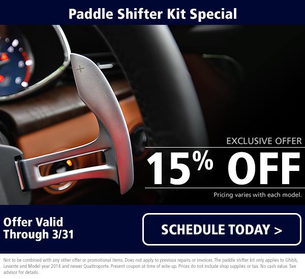 Maserati Paddle Shifter Kit Special
