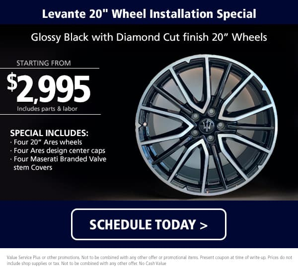 Levante Wheel Package
