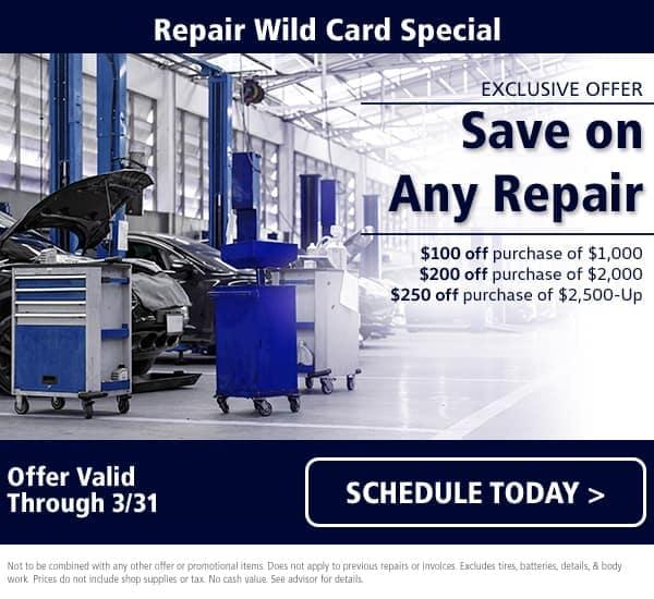 Maserati Wild Card Repair Special