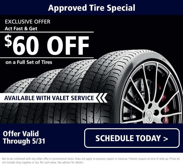 Maserati Tire Special