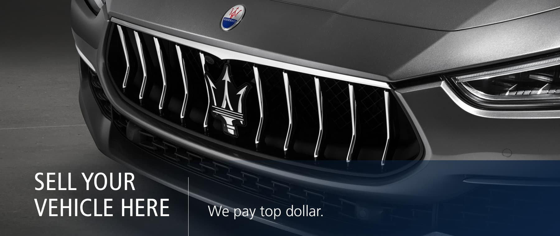 Maserati of Tampa Sell Your Vehicle