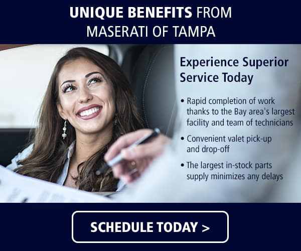 Unique Benefits of Maserati Service