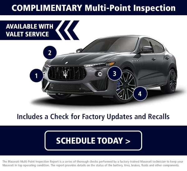 Maserati Multi-Point Inspection