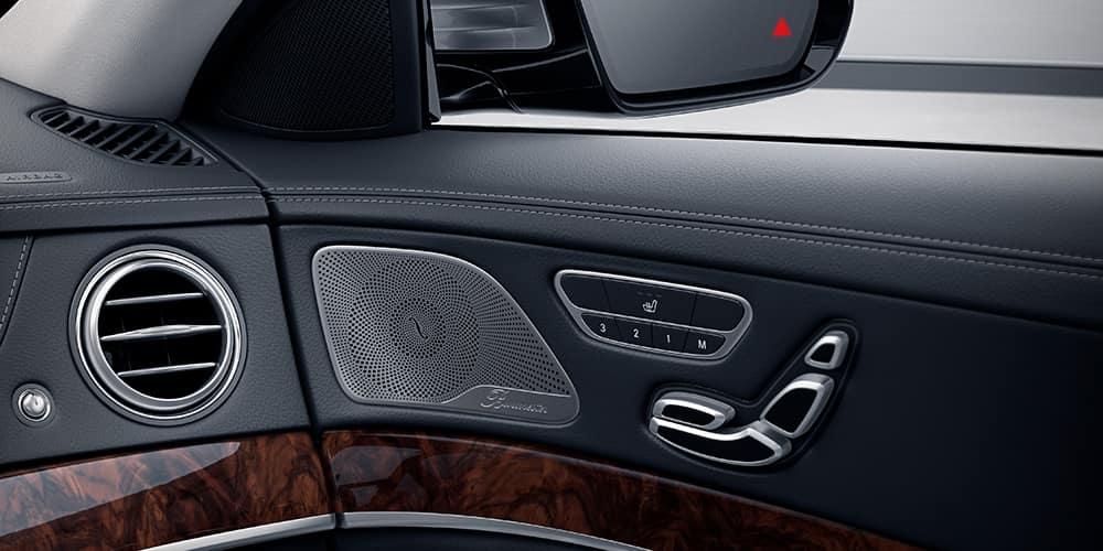 2018 Mercedes-Benz S-Class interior speakers