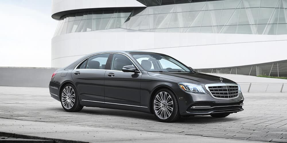 2018 Mercedes-Benz S-Class outside