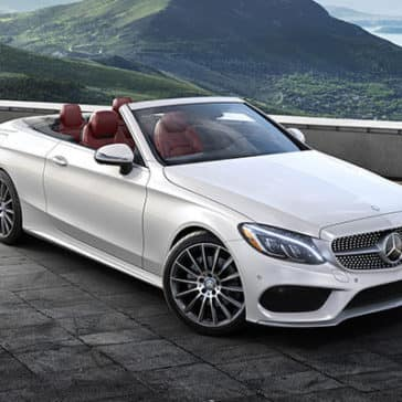 2018 Mercedes-Benz C-Class in the mountains