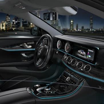 2018 Mercedes-Benz E-300 interior view
