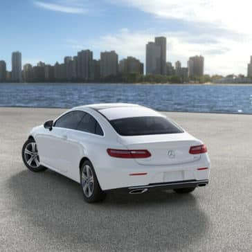2018 Mercedes-Benz E-300 by the lake