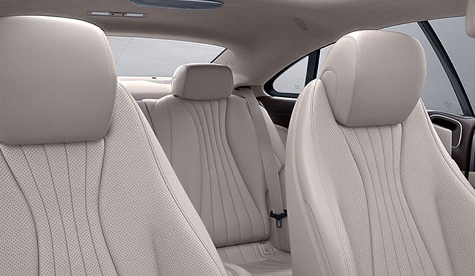 2018 Mercedes-Benz E-300 Seating