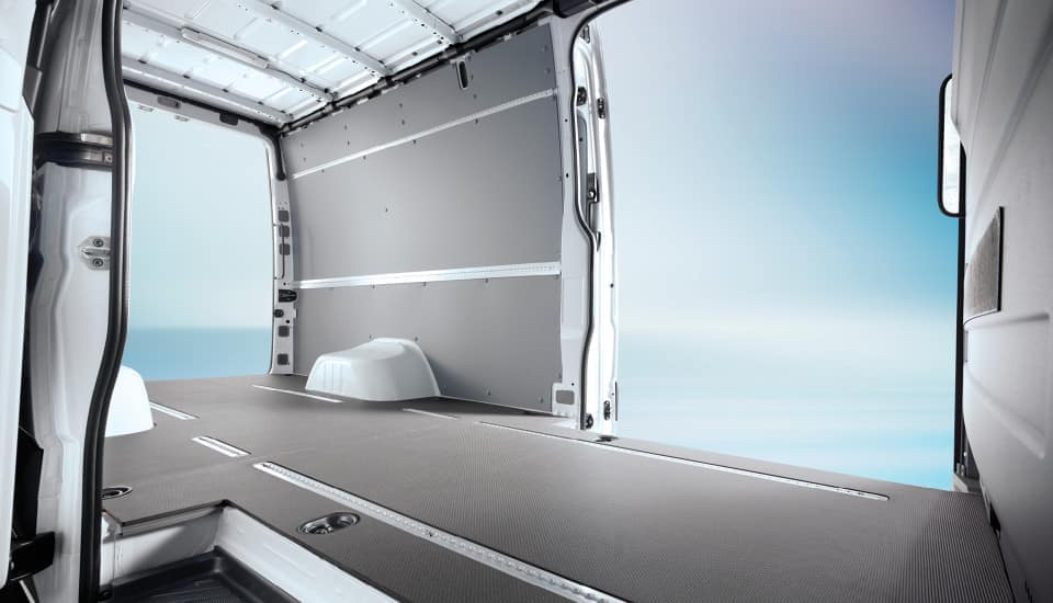 2018 Sprinter Cargo Van Interior Cargo Space