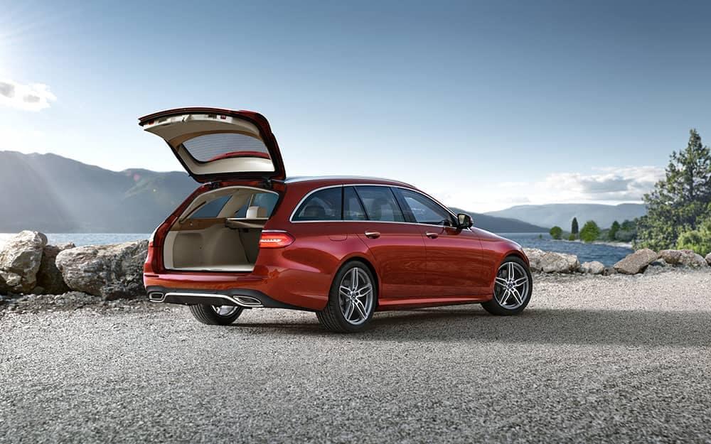 2019 Mercedes-Benz E-Class cargo space