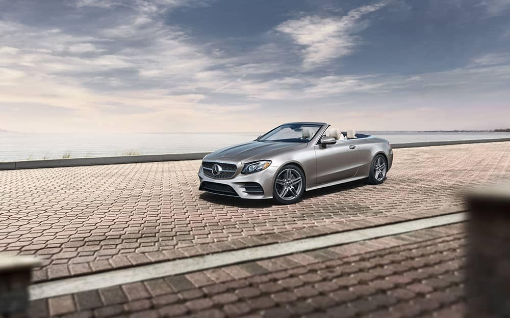 2019 Mercedes-Benz E-Class on the track