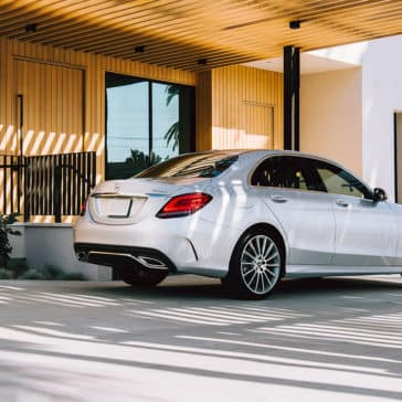 2019 Mercedes-Benz C-Class profile view