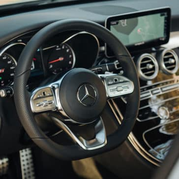 2019 Mercedes-Benz C-Class steering wheel