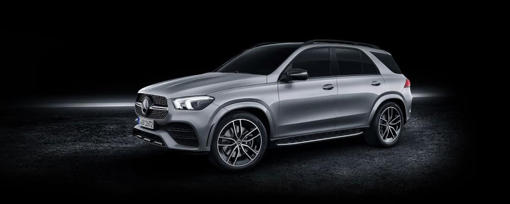 2019 Mercedes-Benz GLE Black Background