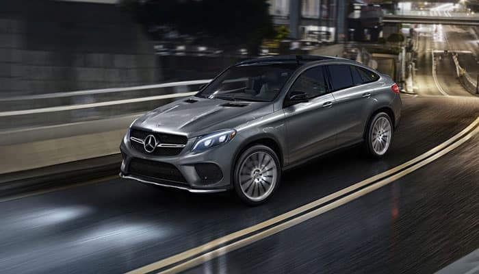 2019 Mercedes-Benz GLE Coupe Driving in Road
