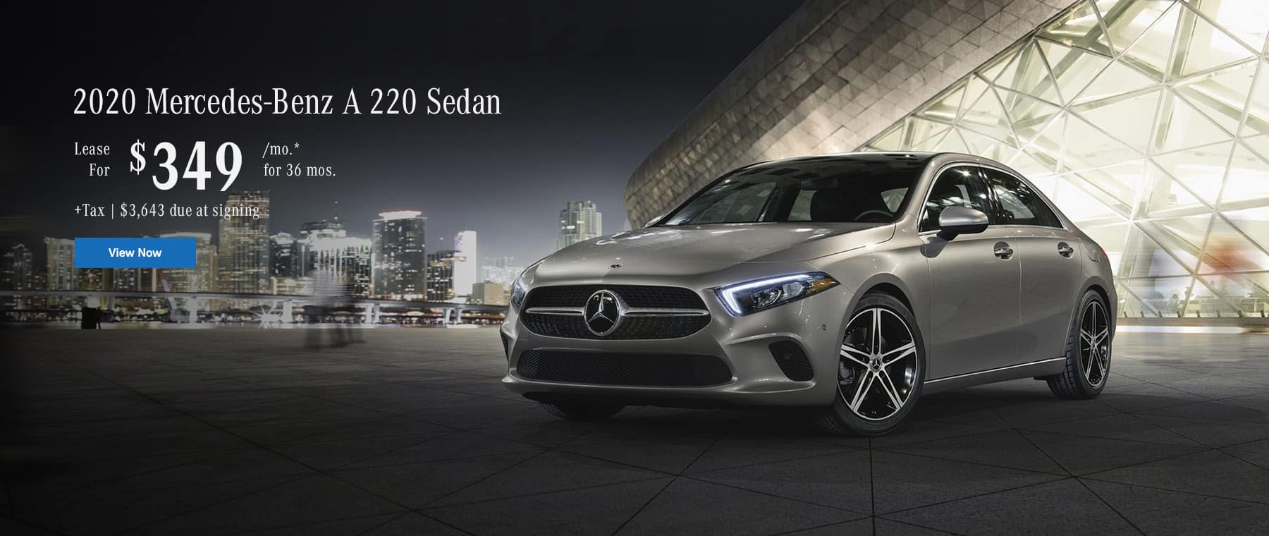 2020 A220 sedan