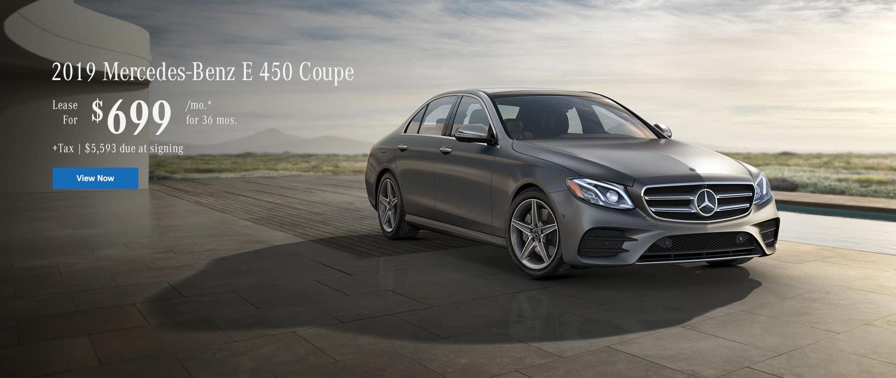 2019 E450 Coupe