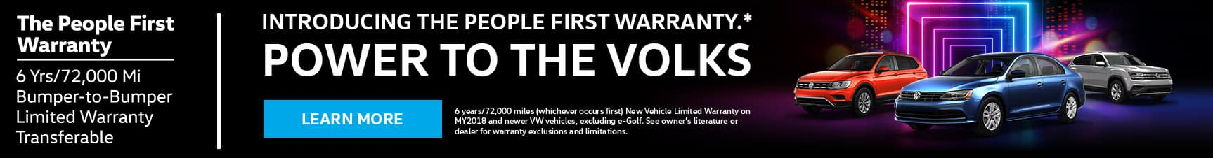 volkswagon peoples first warranty