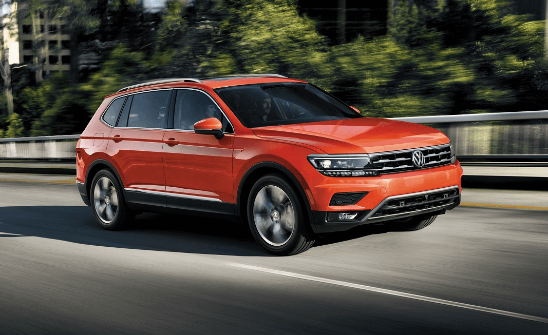 Volkswagen Tiguan Habenero Orange