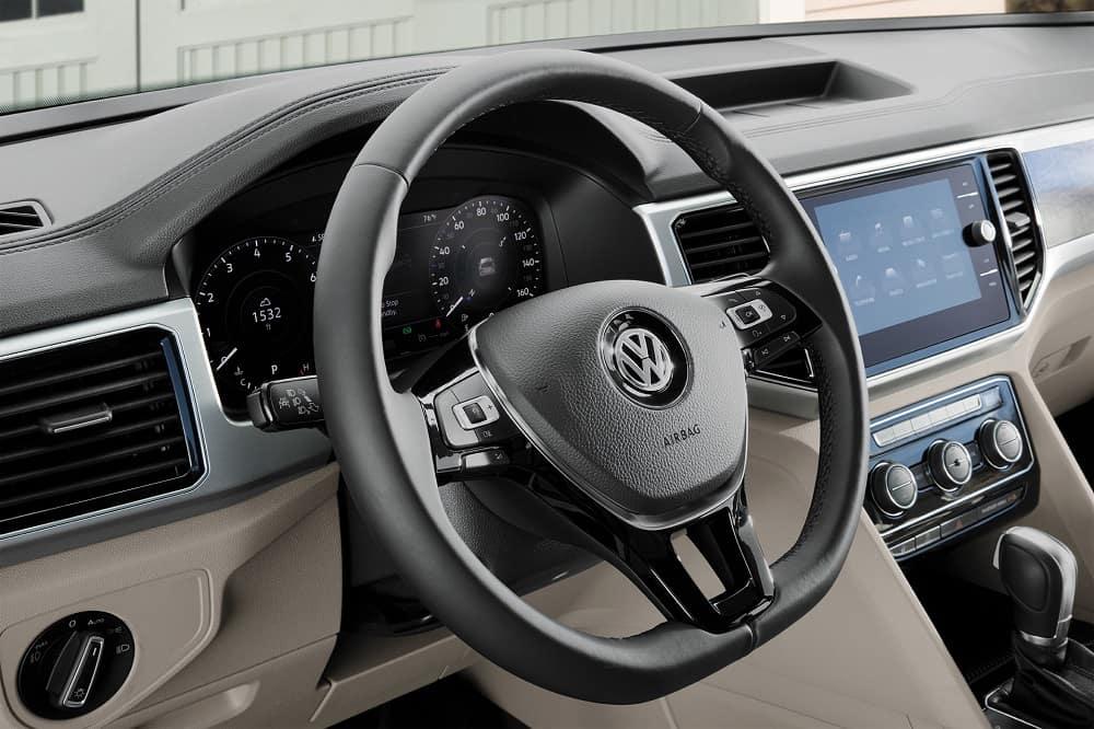 2019 VW Atlas Interior Review   McDonald VW of Littleton CO